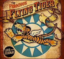 """FLYING TIGER"" VINTAGE  by Pat McNeely"