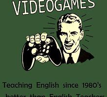 Videogames Teaching English  by Mellark90