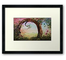 Gate of Illusion Framed Print