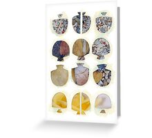Multifaceted No.4, Stones and Roses (Light, Time & Facade Series) Greeting Card