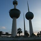 kuwait Towers by Joyce Knorz