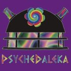 PsycheDaleka Head [Small]- Psychedelic Dalek! by jefph