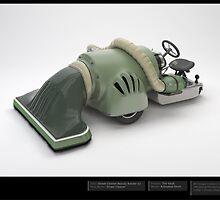 Street Cleaner - 3D Model  by Liam  Golden