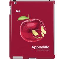 Aa - Appladillo // Half Armadillo, Half Apple iPad Case/Skin