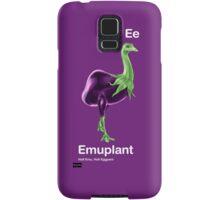 Ee - Emuplant // Half Emu, Half Eggplant Samsung Galaxy Case/Skin