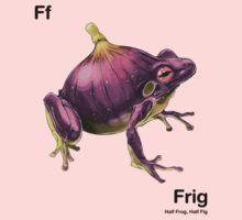 Ff - Frig // Half Frog, Half Fig Kids Clothes