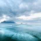 Stormy Morning Dawn at Lagoon Beach, Cape Town by SeeOneSoul