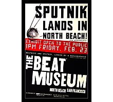 Sputnik Beat Poster Photographic Print
