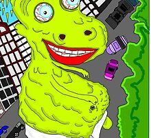 Illustrastion, Object, Monster, Drawing, Art, Fun, Cartoon by elojegger12