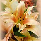 Lily Bouquet by Elaine Bawden
