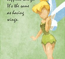 Peter Pan inspired design (Tinkerbell). by topshelf