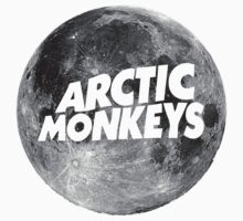 Arctic Monkeys Moon Logo by vompires