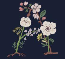 Botanical Letters A Kids Clothes