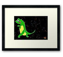 Keep on Grooving Framed Print