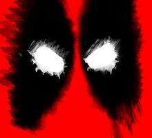 Deadpool Mask Art by WTF-Arts