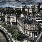 Newcastle Skyline by Andrew Pounder
