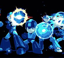 Mega-Man Generations by Connor Keane