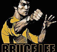 Bruce lee by Mogar .