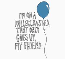 TFiOS - I'm On A Roller-coaster That Only Goes Up. Kids Clothes