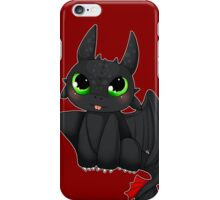 Toothless - Night fury quote iPhone Case/Skin