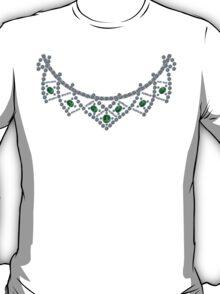 1950s Diamond Emerald Necklace T-Shirt