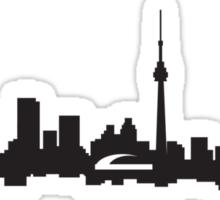 downtown Toronto skyline Sticker
