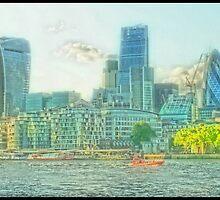 City Of London - The dreamy vista by InterestingImag