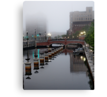Early Morning Fog Canvas Print