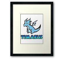 Timaeus Framed Print