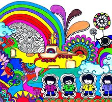 The Beatles - Yellow Submarine  by malalatiseira