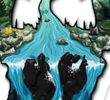 Custom Skyrim Logo Sticker