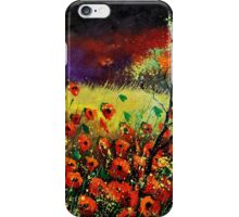 poppies 7741 iPhone Case/Skin