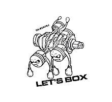 Lets Box! Subaru Boxer Engine Photographic Print