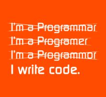 I Write Code by SquareFish