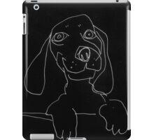 happy doxie iPad Case/Skin