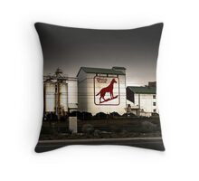 Dingo Flour Mill - Fremantle Western Australia  Throw Pillow