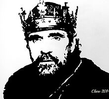 Henry IV/ Jeremy Irons by Clare Shailes