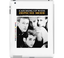 Depeche Mode : Catching Up With ... - Paint B&W - With name iPad Case/Skin