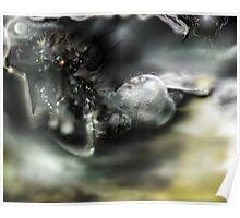 Dark Matter [Digital Fantasy Figure Illustration]  Poster
