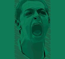 World Cup Edition - Javier Hernandez / Mexico by Milan Vuckovic