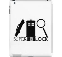 SuperWhoLock - Impala, T.A.R.D.I.S & Magnifying Glass iPad Case/Skin