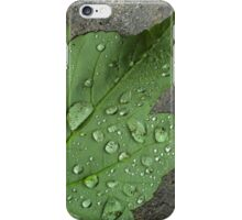 Rain Droplets iPhone Case/Skin