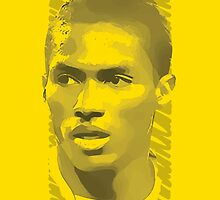 World Cup Edition - Antonio Valencia / Ecuador by Milan Vuckovic