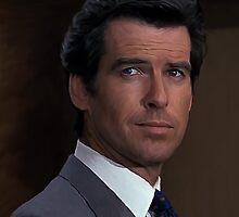 Pierce Brosnan - James Bond 007 by verypeculiar