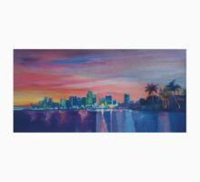 Miami Skyline Silhouette at Sunset, Florida, USA  Kids Clothes
