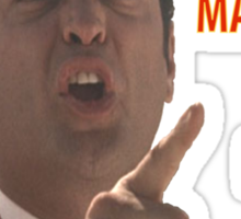 Wes Mantooth's Rage Sticker