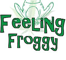 FEELING FROGGY by VividAudacity