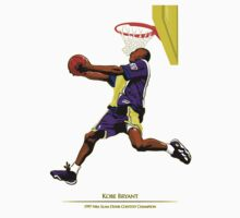 Kobe Bryant Dunk Champion by samjones24