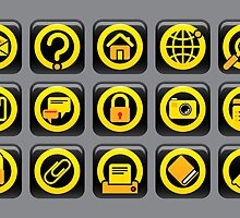 Website and internet icons by maystra