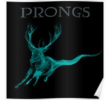 Prongs Patronus - Harry Potter Poster